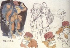 Living Lines Library: 天空の城ラピュタ / Castle in the Sky (1986) - Character Design
