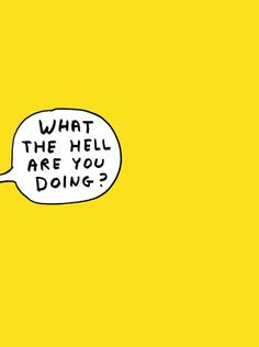 "zeroing: ""David Shrigley """