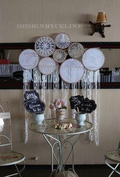 dantel pano,dantelden duvar panosu,diy dantel duvar panosu,kasnak,wedding lace decoration,rustic wedding,vintage bridal showers,weddings for contact bedikyan@gmail.com