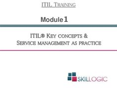 If you are looking for #ITIL certification then you should know the key concepts and service management as practice.