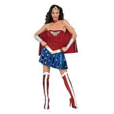 Adult DC Comics Wonder Woman Deluxe Costume, Size: