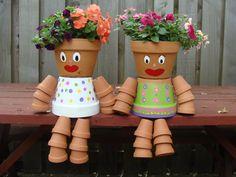 Our flower pot girls