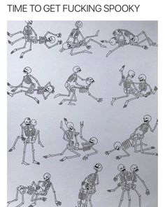 Sex skeletons positions