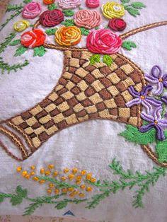 Pomme de Jour Vintage Fabric Cushion Cover  by Pommedejour on Etsy, $32.00