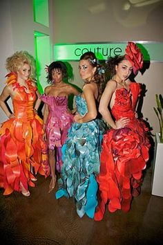 Papier Couture: Lia Griffith's wearable art makes Portland appearance. Is an apparel line next? - Portland Fashion News   Examiner.com