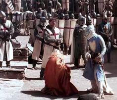 Balduíno IV foi um rei que sabia se impor.