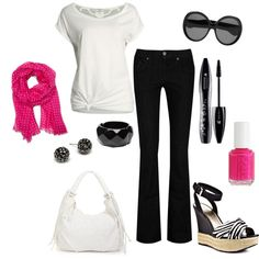 Simple Black & White love it simples and cute
