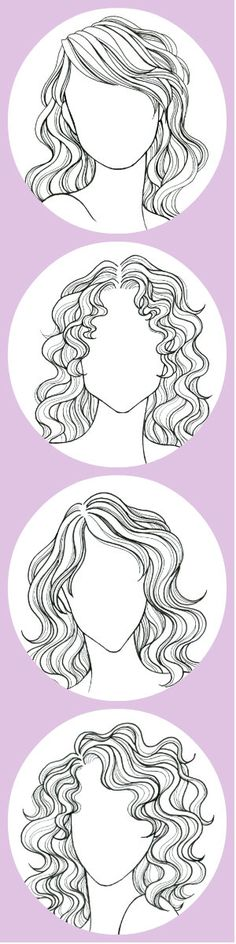 The Fail-Safe Un-Screw-Up-Able Take-This-to-The Salon Guide to Your Perfect Haircut Your best look depends on your hair texture and your face shape Pin this if you have wavy or curly hair Cool Haircuts, Trendy Hairstyles, Fashion Hairstyles, Wedding Hairstyles, Hairstyles Haircuts, How To Draw Hair, Art Plastique, Drawing Tips, Drawing Ideas