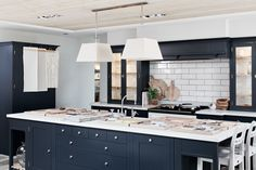 The White Hart Kitchen with bespoke cabinetry and a central AGA Julie's Kitchen, Victorian Interiors, Floor Finishes, Internal Doors, Interior Design Studio, Make Design, Soft Furnishings, Service Design, Contemporary Design