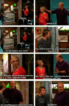 Harry Potter reference in Good Luck Charlie