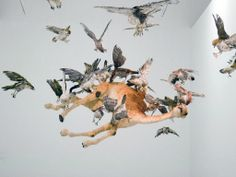 missionslang • likeafieldmouse: Cai Guo-Qiang - Flying Together...