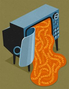 Want some meaningful editorial illustrations? Take a look at John Holcroft's work.