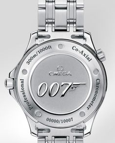 OMEGA Seamaster 300 M Chronometer Steel on Steel James Bond Limited Edition Casino Royale Back