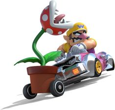 A large gallery of artwork from Mario Kart 8 on Wii U including characters in their anti gravity karts, power ups, the games logo and more. Mario Kart 8, Mario And Luigi, Mario Bros, Mario Comics, Image 3d, Wii U Games, Fire Flower, Shy Guy, Super Mario Brothers
