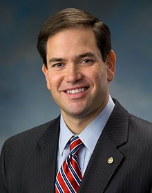 Marco Rubio (just a big ol' tea party slug; not so hot with his finances--foreclosure proceedings & personal expenses on the ol' company credit card.  His political positions are complete mystery to me.  He doesn't look like an embittered, old white man to me but he sure votes like one.)