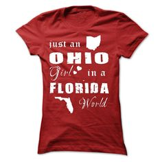OHIO GIRL IN FLORIDA - T-Shirt, Hoodie, Sweatshirt