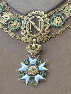 Imperial Legion of Honor medal worn by Napoleon I 19th century CE