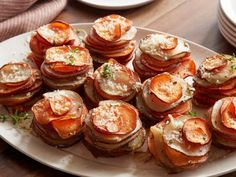 Get Crispy Potato Stacks Recipe from Food Network