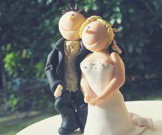 Brautpaar Anleitung, Fimo, Fondant, Bride & Groom, cake, Torte, couple, wedding, Hochzeitstorte, Anleitung, diy, polymer clay,