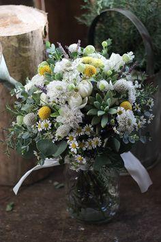 新緑のナチュラルウェディング [ メゾンプルミエールアットロビンズ様へ ] の画像|kukkaのウェディングフラワーデザインブック[ブーケ・会場装花・花冠] flowers nad bouquets
