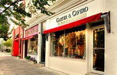 Carter and Cavero olive oil store in Summit, New Jersey, good stuff