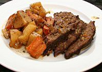 Slow Cooked Tri-Tip Roast With Vegetables - Crockpot Roast Beef Recipe