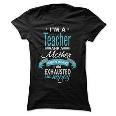 TEACHER MOM TSHIRT