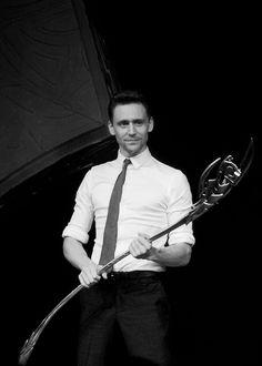 Tom Hiddleston in Beijing.