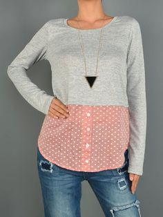 Double layered heart Top | SexyModest Boutique