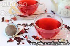 É um antioxidante poderoso, auxilia na queima de gordura, mas pode prejudicar a fertilidade... Chá de Hibisco Conheça Benefícios e Cuidados!  Artigo aqui => http://www.gulosoesaudavel.com.br/2015/11/12/cha-hibisco-conheca-beneficios-cuidados/