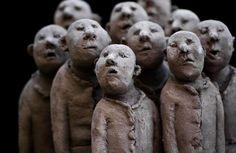 ☥ Figurative Ceramic Sculpture ☥  Artist Unknown | Ceramic figures