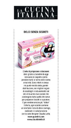 la cucina italiana e il kit per cupcakes!