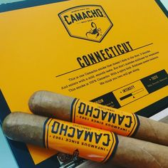 Camacho Connecticut a blend with a formidable kick and zest that doesn't back down! Montecristo Cigars, Cohiba Cigars, Ashton Cigars, Premium Cigars, Pipes And Cigars, Connecticut, Bourbon, Whiskey, Alcohol