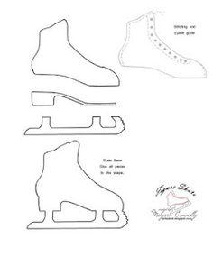 How To Draw Ice Skates : skates, Skating, Cakes,, Cupcakes,, Cookies, Ideas, Cake,, Skating,, Party
