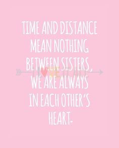 long lost sister quotes