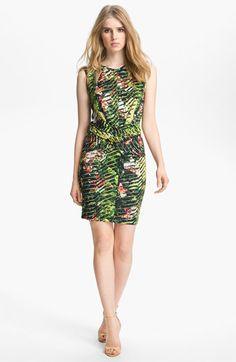 KENZO Orchid Print Dress