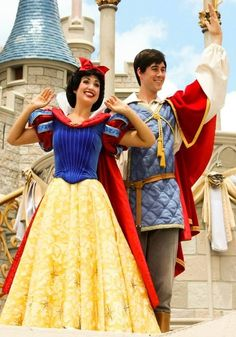 Snow White and Snow Prince- snow white would be pretty fun. :) not sure i could do the voice though!