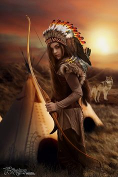 DeviantArt: More Collections Like Native American Dress-Up III by Native American Drawing, Native American Models, Native American Dress, Native American Tattoos, Native American Headdress, Native American Paintings, Native American Pictures, Native American Beauty, American Indian Girl