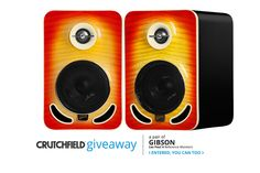 "I entered the @Crutchfield Sweeps to win a pair of Gibson Les Paul 4"" Studio Monitors. You can too – #GGGEntry #win"