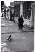 **SIGNED** - Erwitt - FRANCE. Neuilly, Paris. 1952.