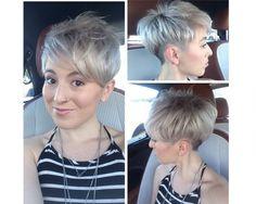 Modne fryzury damskie z grzywką, asymetryczne, wygolone, pixie. Trendy w krótkich fryzurach na sezon jesień zima 2015.