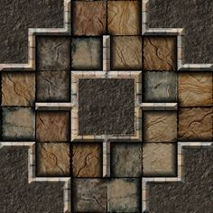 Dundjinni Mapping Software - Forums: ProBono's Dungeon Tiles - Mercutio (GIMP)
