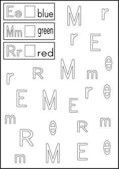 Alphabet Activity - Follow the directions/ trace within the lines.  Handy and Free!