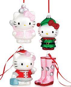 Kurt Adler Hello Kitty Collection
