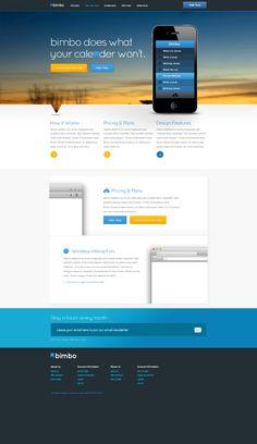Ios Website Free Psd Template Lication Development Web Design
