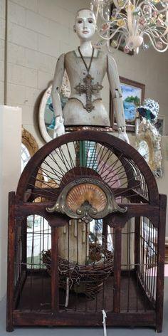 White Horse Relics Birdcage