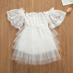 Sweet Baby Girls Short Sleeve Party Pageant Lace Floral Printed Tutu Dress Princess One-Pieces Clothes Cheap Dresses, Pageant, Baby Girls, Tutu, Dress Outfits, Floral Prints, Flower Girl Dresses, One Piece, Princess