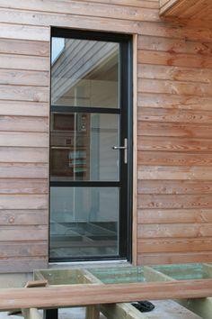 New modern main door mid century 42 ideas Door Gate Design, Main Door Design, Entry Way Design, Entrance Design, Villa Design, Design Entrée, Lobby Design, Double Front Entry Doors, Glass Front Door