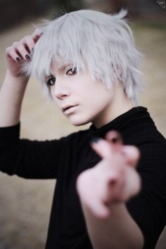 Nova(Prince Shota) Ken Kaneki Cosplay Photo - WorldCosplay