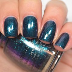 "China Glaze ""Don't Get Elfed Up"" from the Cheers collection for Winter 2015."